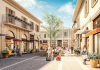 Rendering Franciacorta Outlet