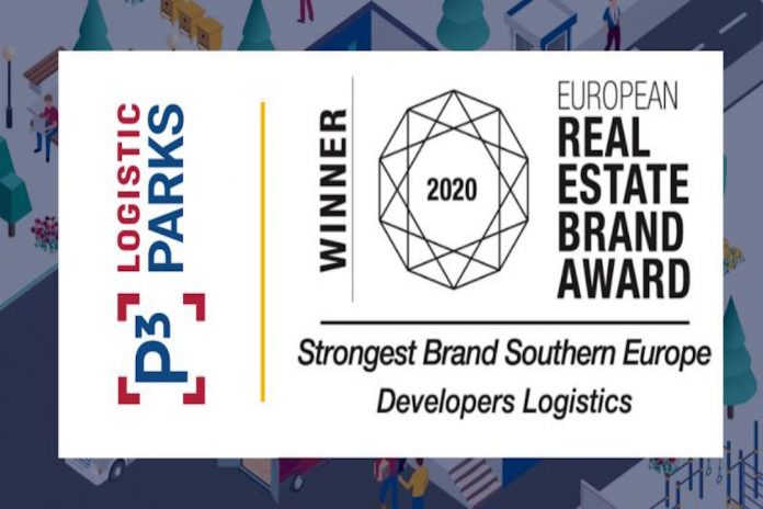 P3 Logistic Parks - European Real Estate Brand Award