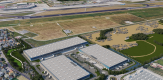 Parco Logistico Bologna, Scannell Properties logistica
